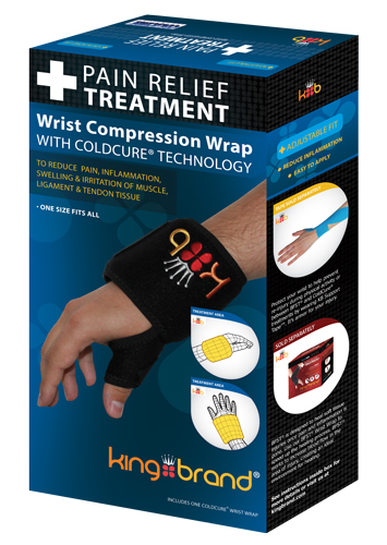 King Brand® Wrist Box 3d image ColdCure Compression