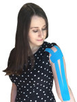 King Brand Bicep Tendonitis Taping Option 4