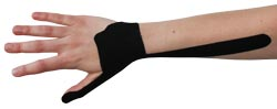 King Brand® Black Tape for De Quervain's Tenosynovitis