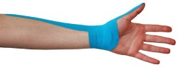 King Brand® Blue Tape for De Quervain's Tenosynovitis