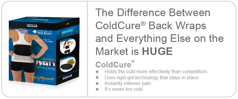 King Brand Coldcure Wraps are the Best Products on the Market to Prevent Pain and Swelling