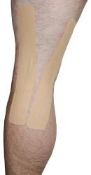 Kingbrand Beige Taping for the Back of the Knee
