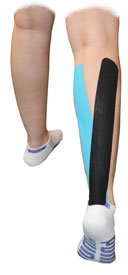 King Brand Calf Muscle Taping 1