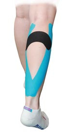 King Brand Calf Muscle Taping 2