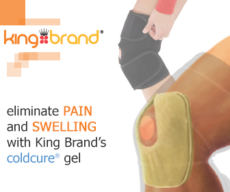 King Brand Coldcure Knee Wrap Eliminates Pain and Swelling