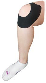 King Brand Knee Taping 3 inch