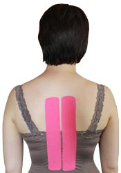 King Brand Middle Back Pink Tape