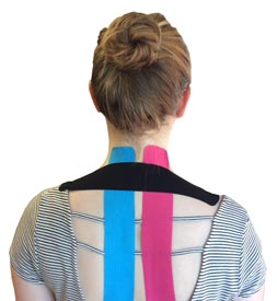 Upper Back Tape Application