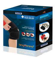 King Brand Coldcure helps Reduce Swelling, Pain and Inflammation Comfortable FDA Approved Knee Wrap