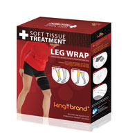 King Brand BFST Leg Wrap Shp Product Box