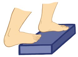 Image of Someone Step-Stretching and Worsening Their Injury