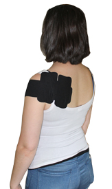 3 Inch Supraspinatus Tape Application