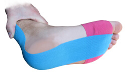 KB Support Tape Provides Support for Tissue and Prevents Re-Injury