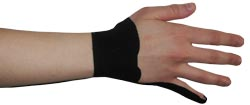 King Brand® Wrist Tape for Extensor Tendons Capri