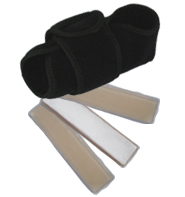 King Brand Coldcure Foot Wrap Comes With Three 3 Gel Packs Included For Good Value and More Cooling Power