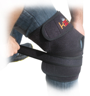 Accessory Strap Used With the King Brand Knee Wrap Accessory Strap Gives Additional Compression and Immobilizes Injured Area